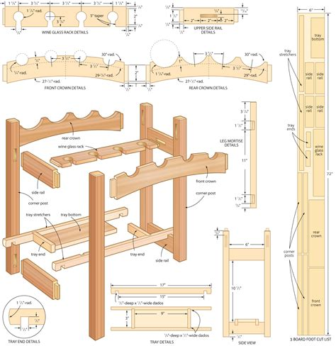 best free woodworking plans woodwork woodworking plans wine rack free pdf plans