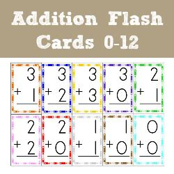 how to make math flash cards addition flash cards 1 1 1 1