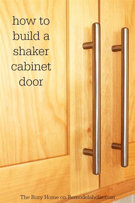 make cabinet doors how to make a shaker cabinet door remodelaholic bloglovin