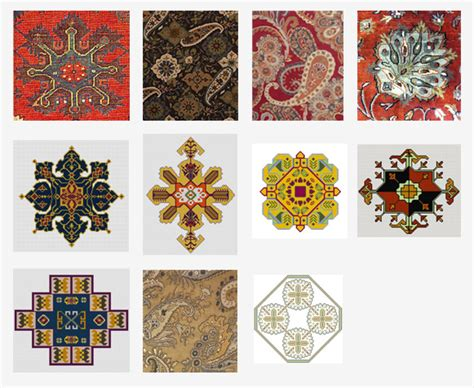 rug motifs about rugs and history
