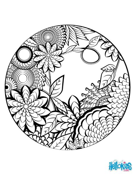 designs for adults mandala coloring page worksheet coloring mandala s