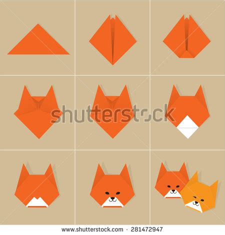 origami step by step stock photos images pictures