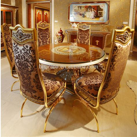 Luxury Dining Room Chairs luxury french home dining room golden food service trolley