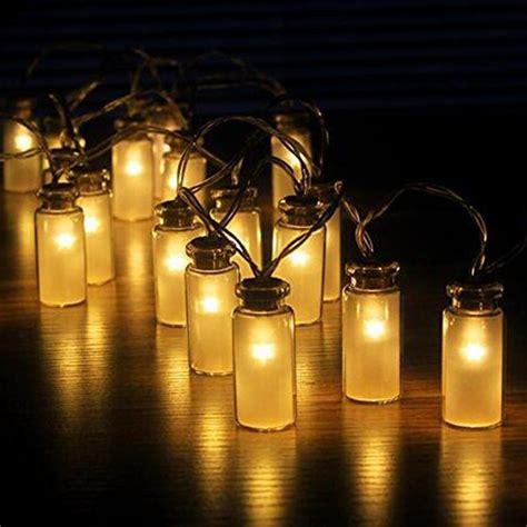 jar patio lights jar string lights garden deck patio lighting battery