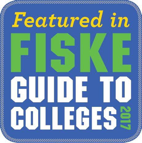 fiske guide to colleges 2018 fiske guide to colleges 2017 features uncw