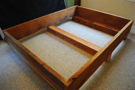 woodwork bed frame diy pdf plans