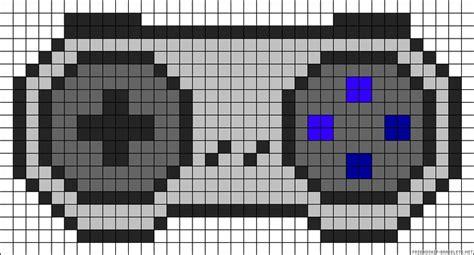 nintendo perler bead patterns nintendo controller perler bead pattern crafting
