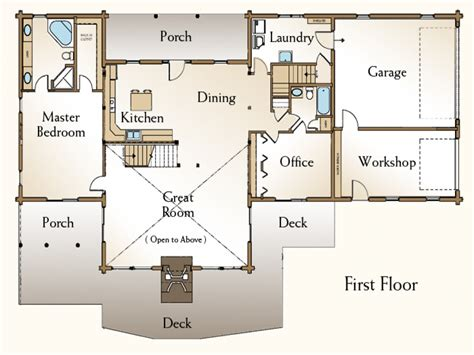 4 bedroom open floor plans 4 bedroom log home floor plans 4 bedroom open house plans