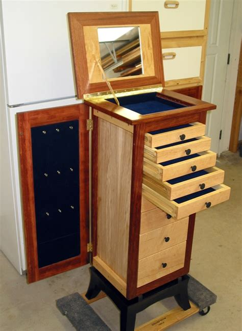 free jewelry armoire woodworking plans image gallery jewelry armoire plans