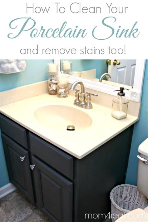 how to disconnect kitchen sink how to get a clean porcelain sink and remove rust stains