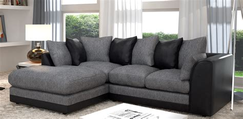 black and grey sofas cheap grey sofa uk sofa black and
