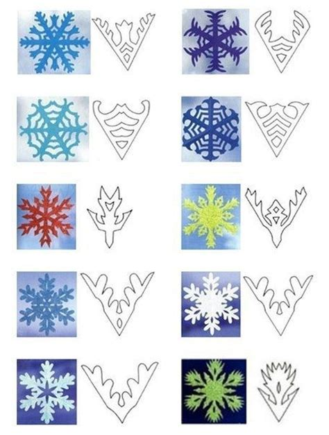 paper craft snowflakes best 25 snowflake template ideas on paper