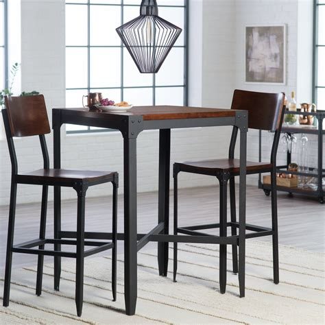 bar style dining room tables unique bar style dining room table light of dining room