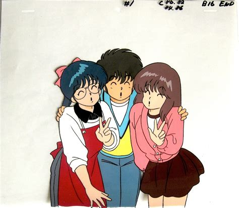 kimagure orange road kimagure orange road cels