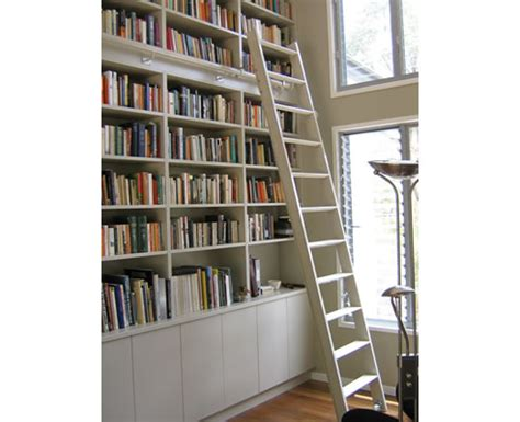 bookcase ladder kit rolling library ladders from access ladders
