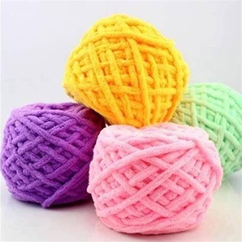knit yarn ᗖ100g pc cotton colorful ヾ ノ dye dye scarf