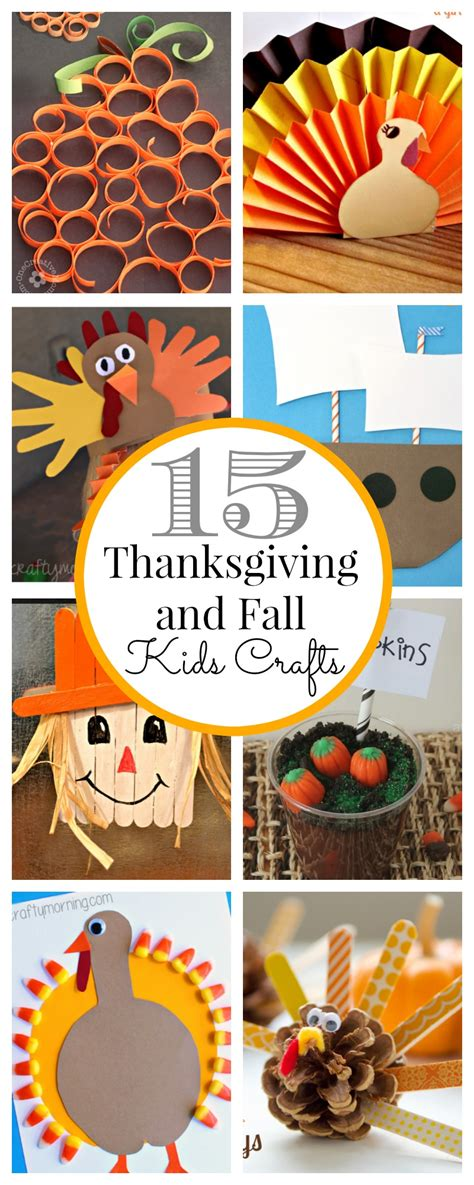 thanksgiving kid crafts 15 thanksgiving crafts clutter