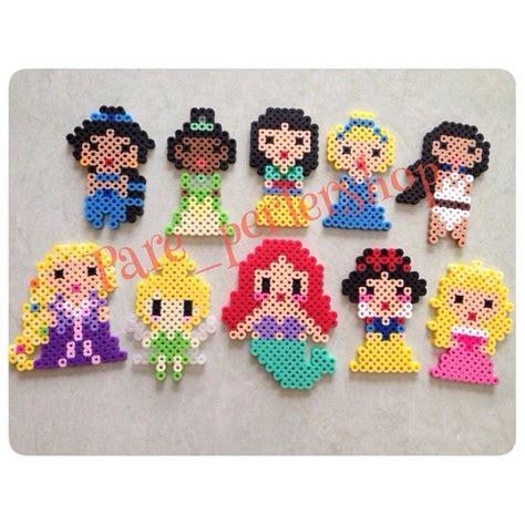perler bead disney disney princesses mulan cinderella