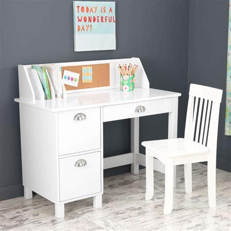 children white desk study desk with drawers white by kidkraft