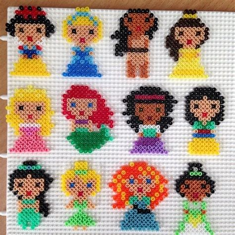 hama bead princess designs the 25 best ideas about hama disney on