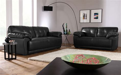 living room decor with black leather sofa 35 best sofa beds design ideas in uk