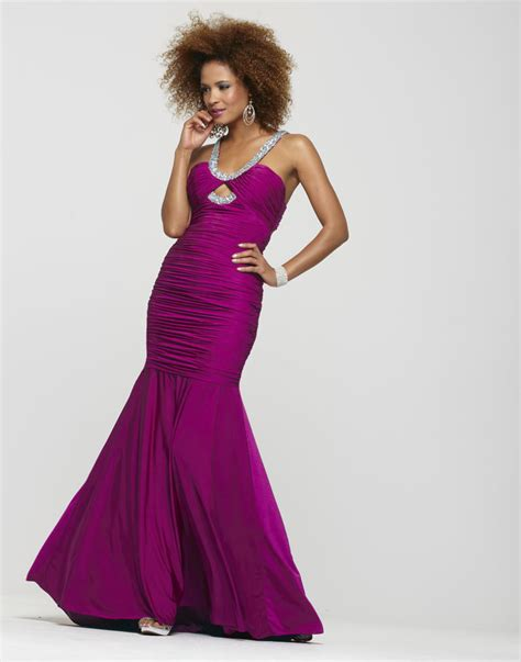 beaded halter prom dress clarisse 2013 raspberry beaded halter ruched mermaid key