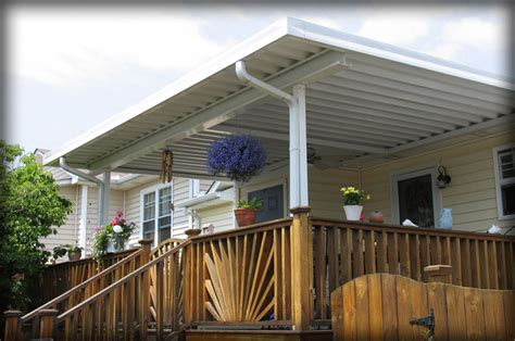 Metal Canopy by Residential Deck Awnings Residential Patio Canopies