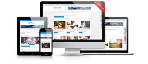 blogus free joomla 3 responsive bootstrap template