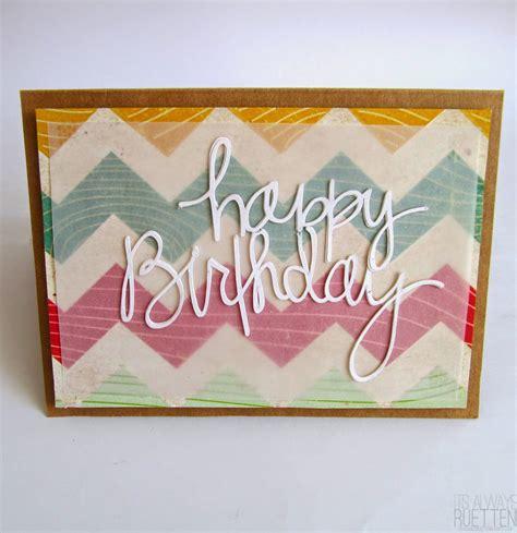 make happy birthday cards 25 beautiful handmade cards