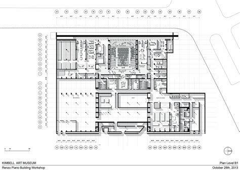 kimbell museum floor plan gallery of kimbell museum expansion renzo piano