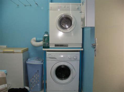 mettre un seche linge sur une machine a laver