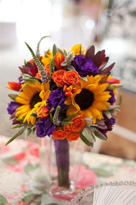 orange and purple decorating ideas orange wedding flowers wedding ideas by colour chwv