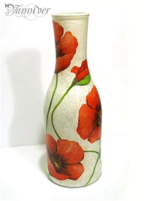 how to decoupage a vase decoupage vase poppy by yanniver on deviantart