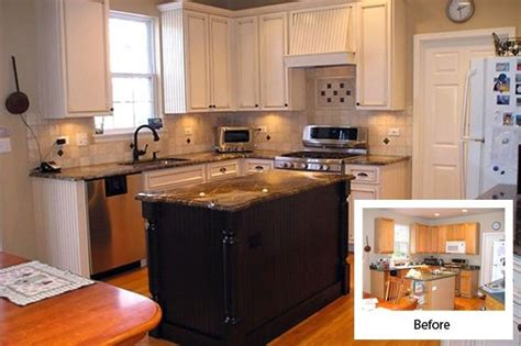 refacing kitchen cabinets before and after cabinet refacing before and after kitchen