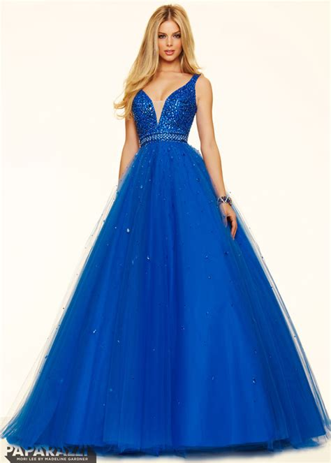 beaded top prom dresses 2016 fitted beaded bodice a line sparkly top royal