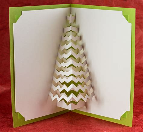 how to make a tree card tree popup card popup card shop