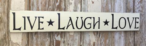 live laugh signs live laugh wood sign