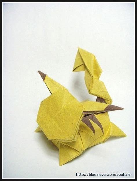 how to make pikachu origami 1000 ideas about pikachu on pikachu