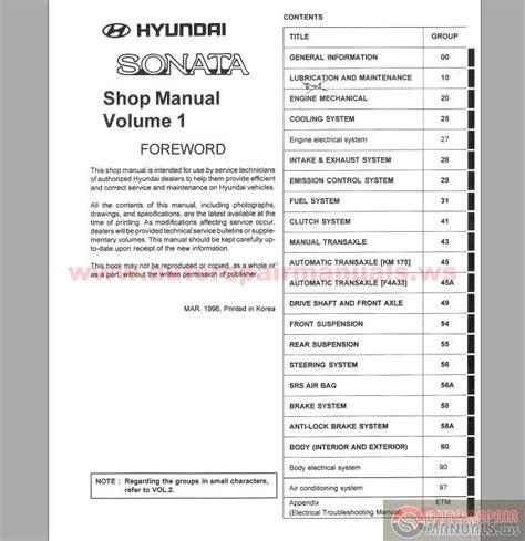 service manual pdf 2006 hyundai tucson workshop manuals 2007 hyundai tucson shop manual hyundai sonata 1997 service manual auto repair manual forum heavy equipment forums