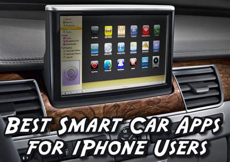 Car Apps For An Iphone by 5 Best Smart Car Apps For Iphone Users Designer Mag