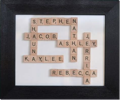 17 Best Images About Scrabble Tile Ideas On