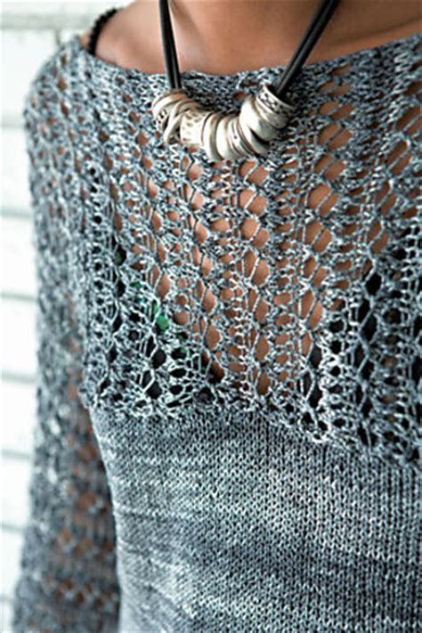 top stitch knitting lace pullover knitting patterns in the loop knitting