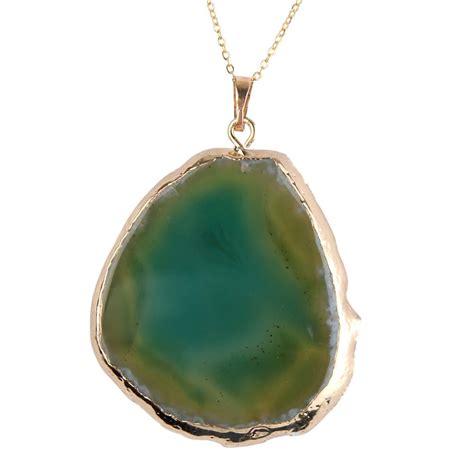 how to make agate jewelry quartz healing point chakra agate slice gemstone