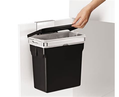 kitchen cabinet garbage can simplehuman cabinet trash can door mounted