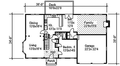 2 story open floor plans two story colonial with open floor plan 9551dm