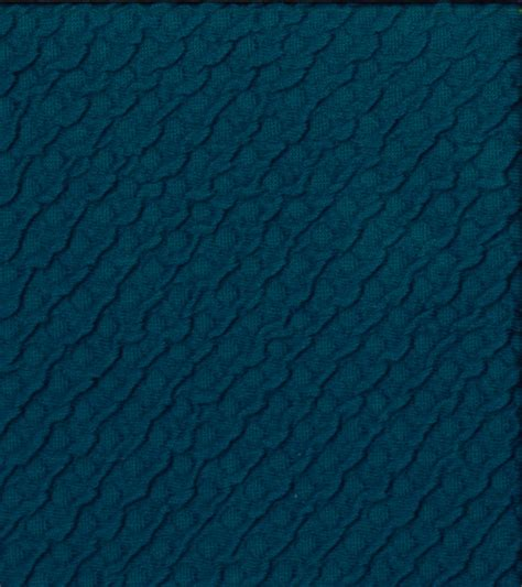 sewing cotton knit fabric sew classics cotton textured knit turquoise fabric at