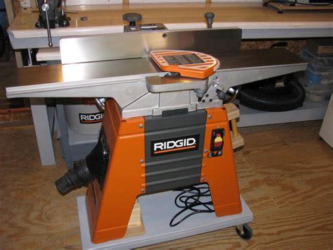 rigid woodworking tools jet 707410 10 benchtop jointer planer jointer planer