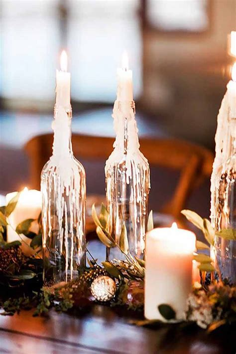 diy wedding centerpieces candles best 25 fall candle centerpieces ideas on
