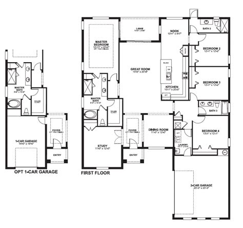 4 bedroom 2 story house plans 28 4 bedroom 2 story house plans one story 4