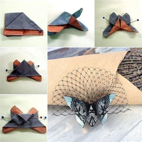 cloth origami diy fabric origami butterfly tutorial